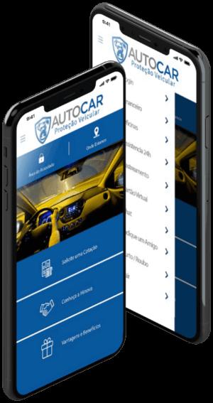 APP AutoCar Android e IOS