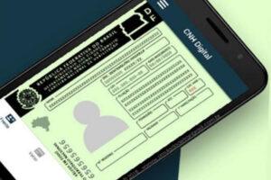 CNH Digital funciona da mesma forma do documento físico