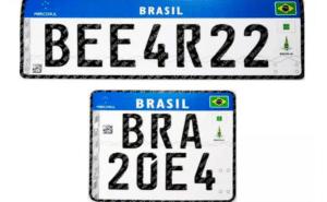 Novo padrão: quais veículos precisam aderir as placas Mercosul?