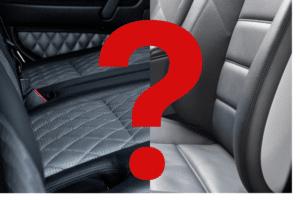 Qual a melhor opção para os motoristas: banco de couro ou tecido?