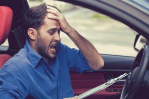 O que acontece quando o motorista ultrapassa a pontuação na CNH?